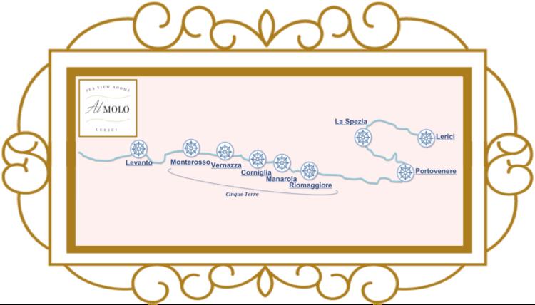 Gollfo dei Poeti: Lerici, Portovenere, le 5 Terre